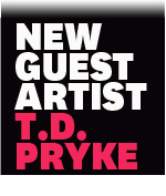 T D Pryke painter